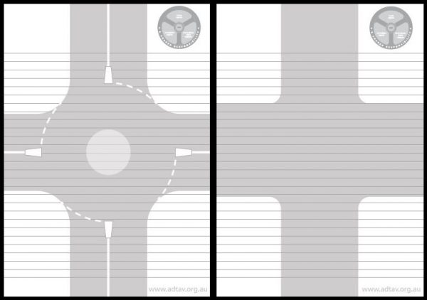 notepad pages