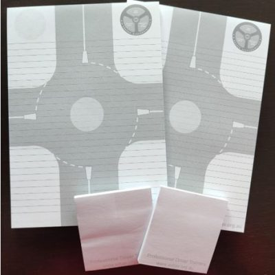 2 pack notepads and stickys